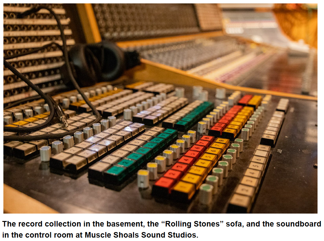 muscle shoals sound music board
