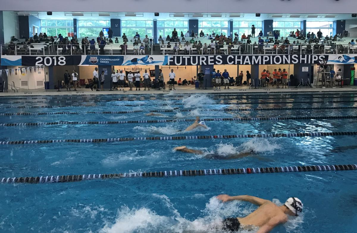 2018 USA Swimming Futures Championships at TAC