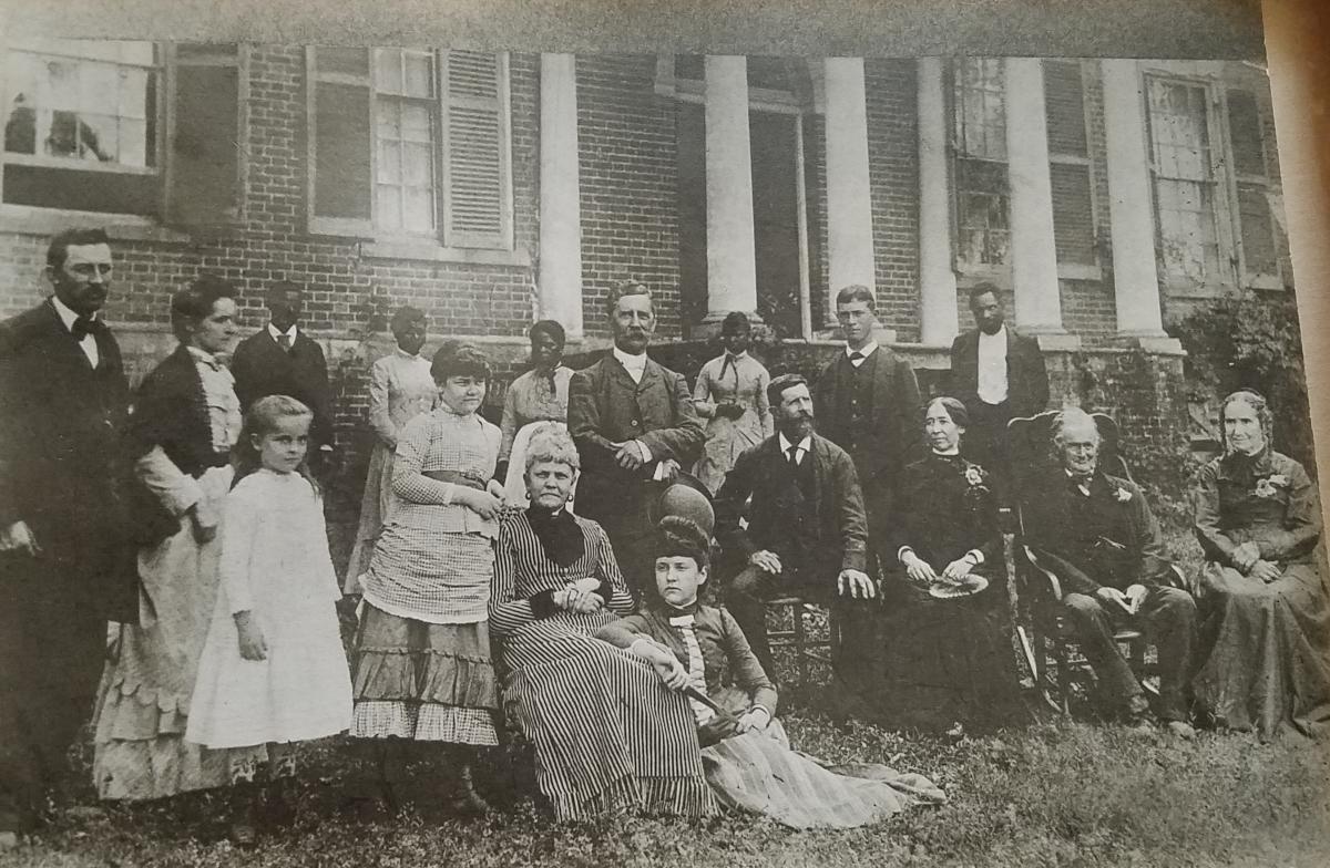 Mason Family at Woodlawn