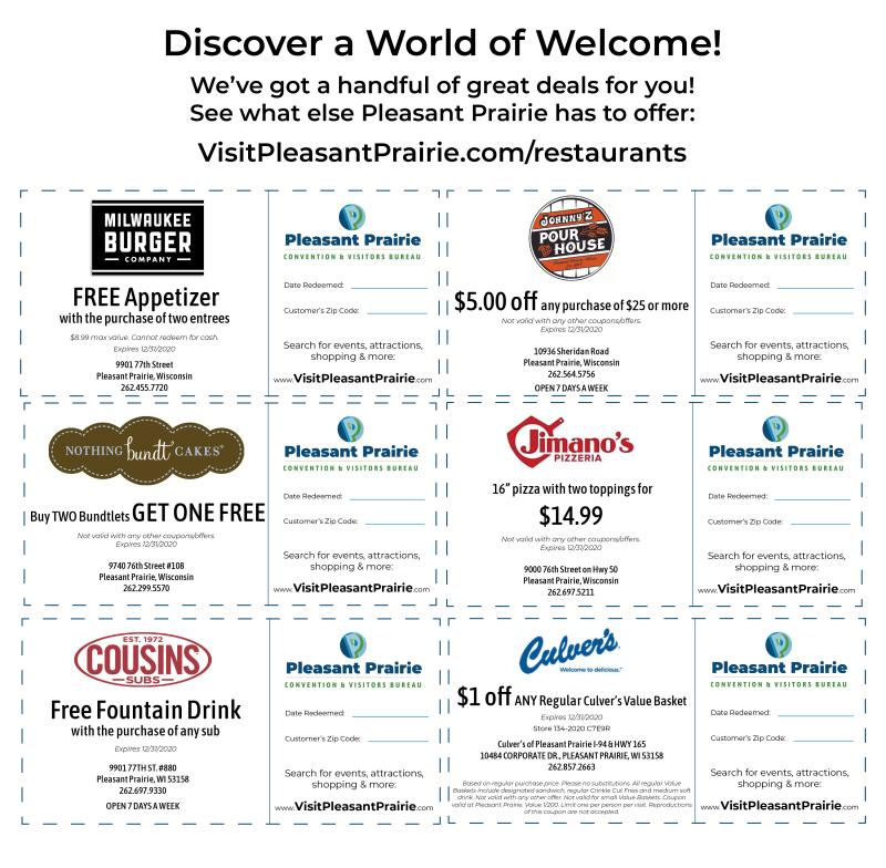 Coupon flyer