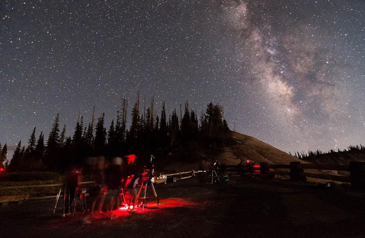 Star Party at Cedar Breaks by Zach Schierl