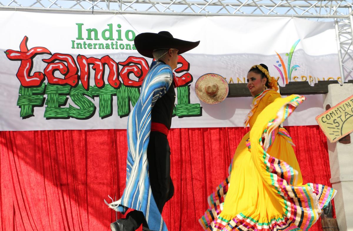 Ballet Folkorico at Indio Intl Tamale Festival