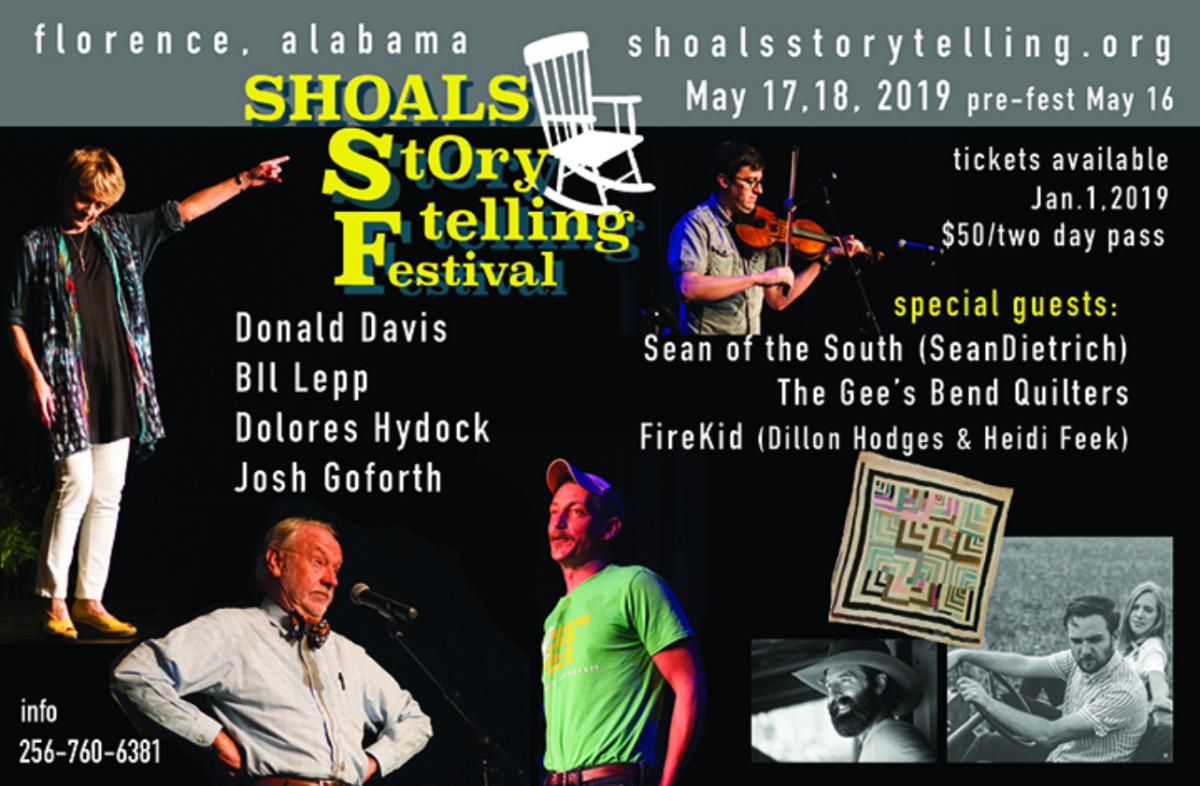 shoals storytelling festival 2019