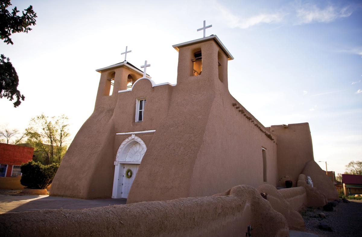 San Francisco de Asis church in Ranchos de Taos