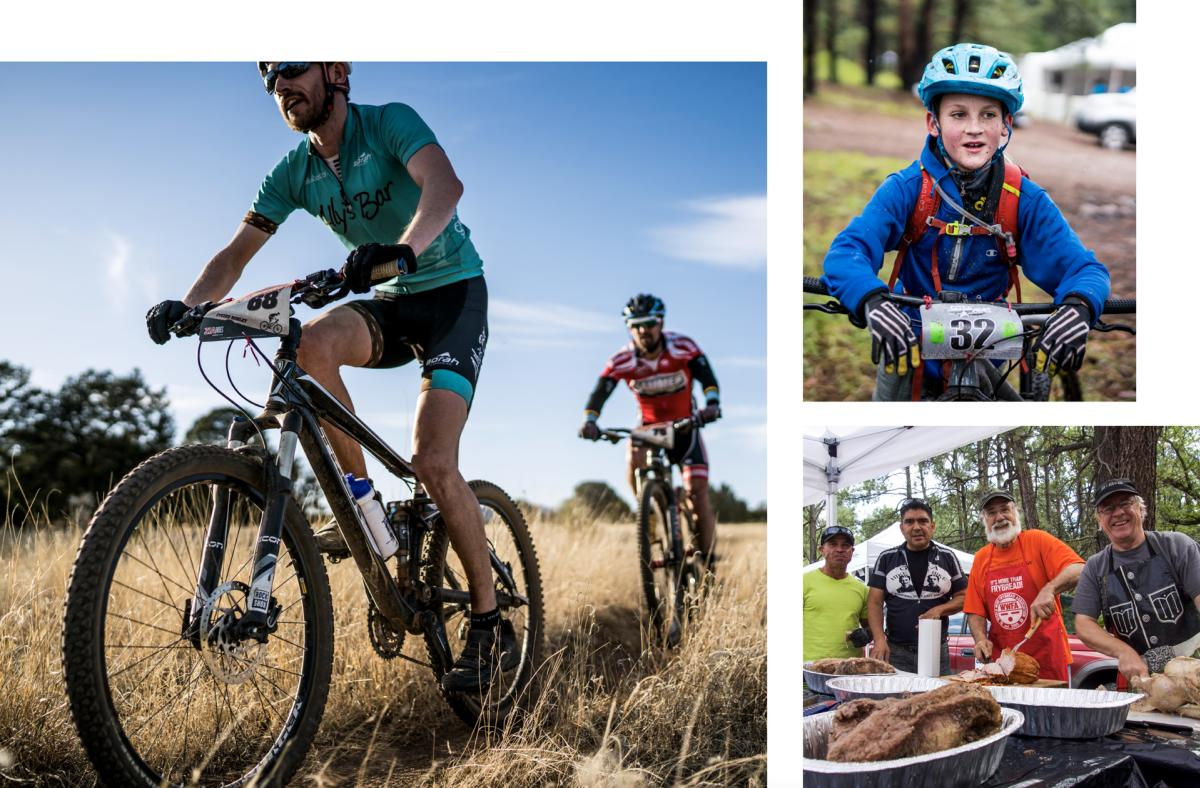 Riders on the Fort Bayard–Dragonfly trails, New Mexico Magazine