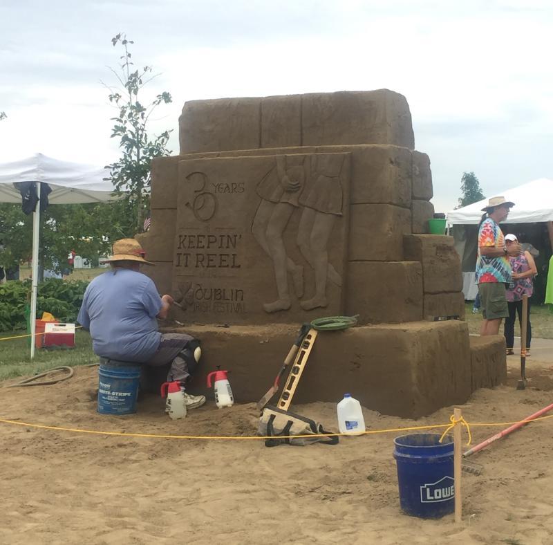 DIF Sand Sculpture