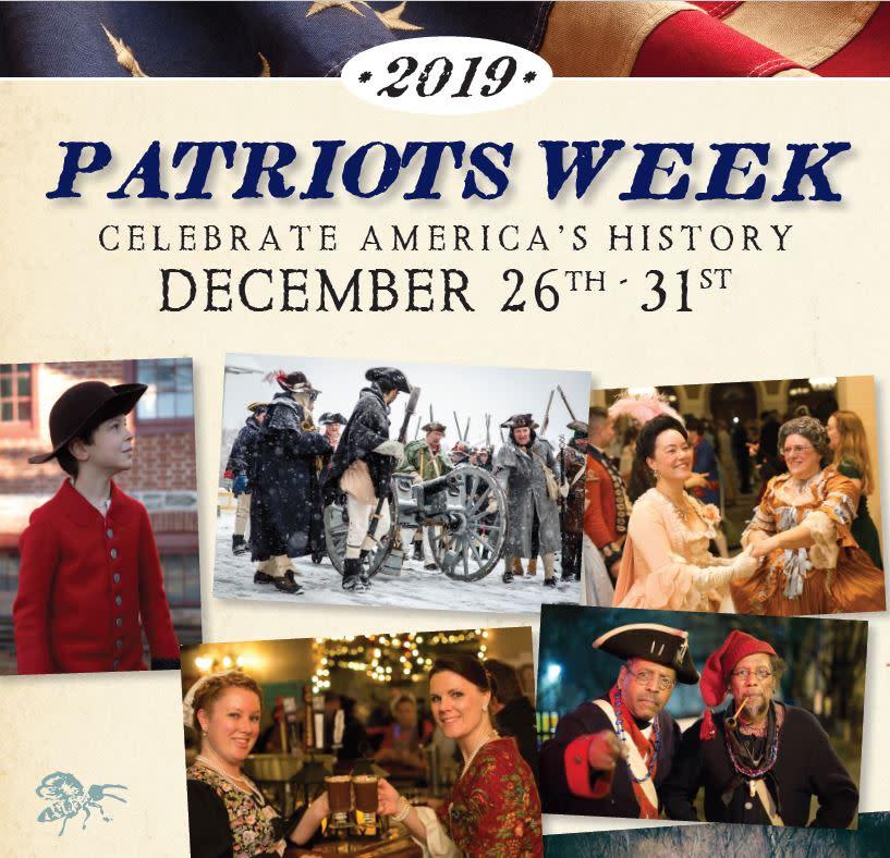 Patriots Week 2019