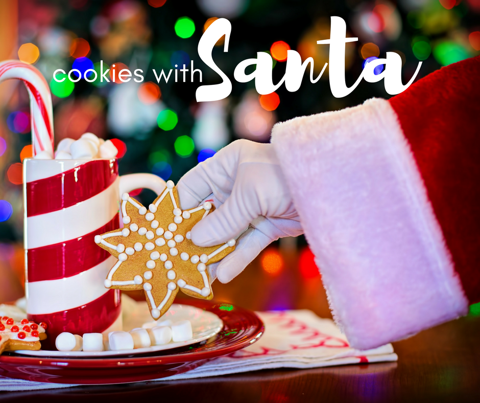 Cookies with Santa at Albertville Chamber