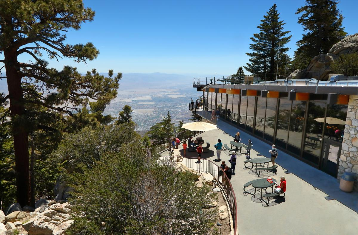 Observation Deck at Palm Springs Aerial Tramway