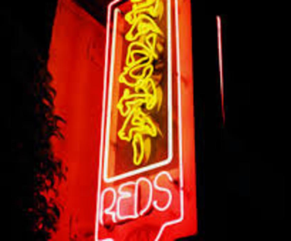 Shanghai Reds neon sign