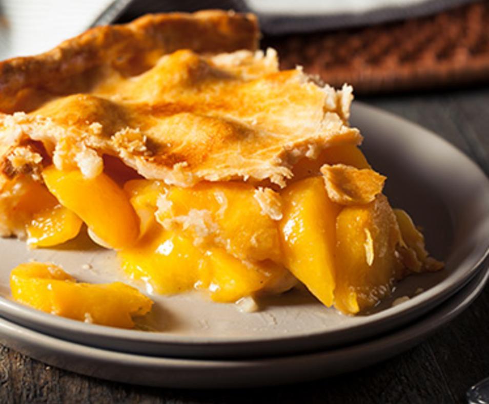 Pie of the Month Peach Pie