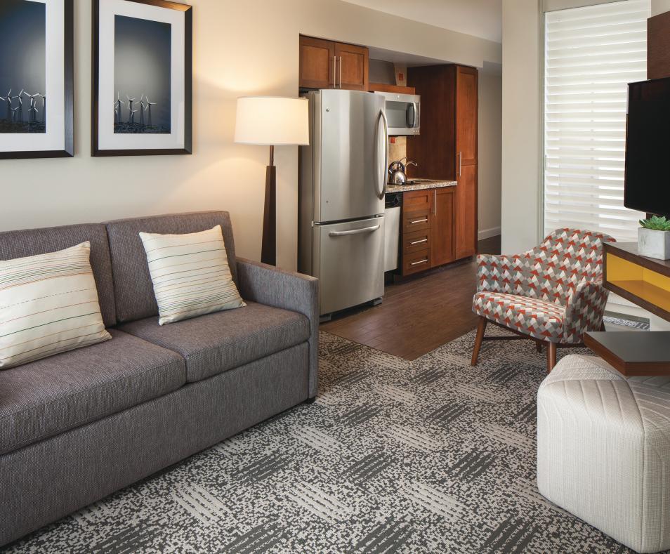 One-Bedroom Smaller Villa - Living Area