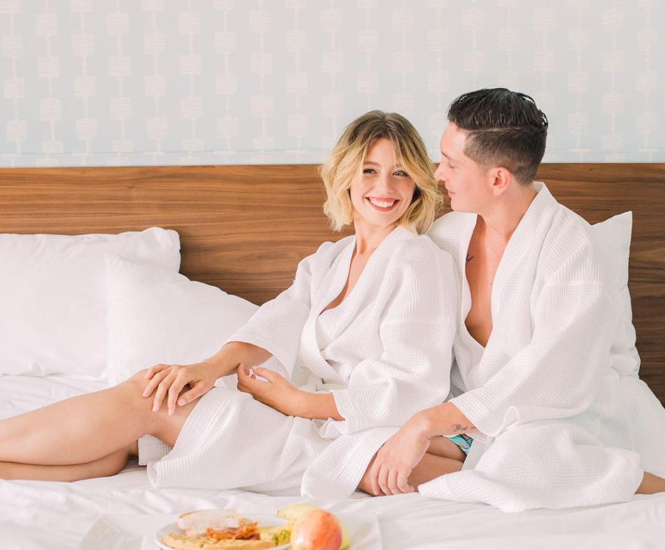 Skylark Hotel - Breakfast in Bed