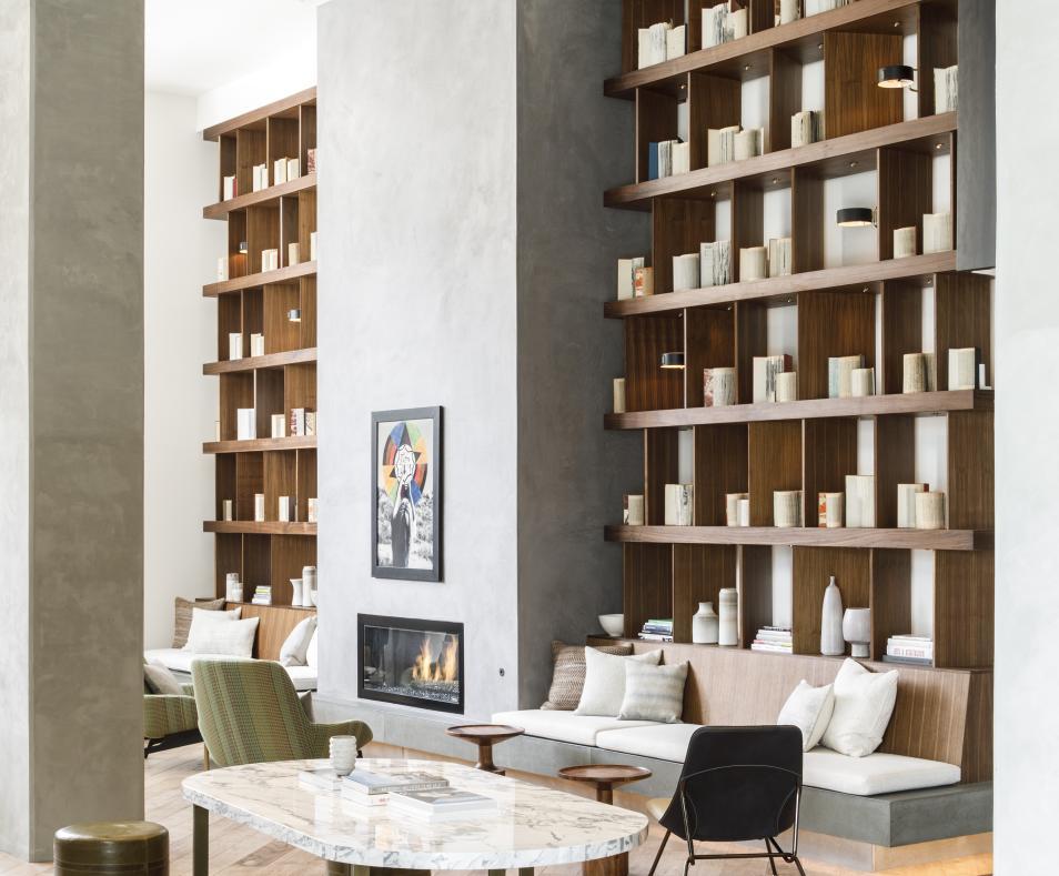 Livingroom Library