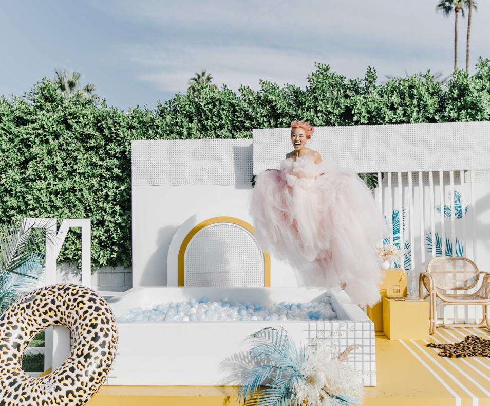 Bride Jump! by Annamae Photo