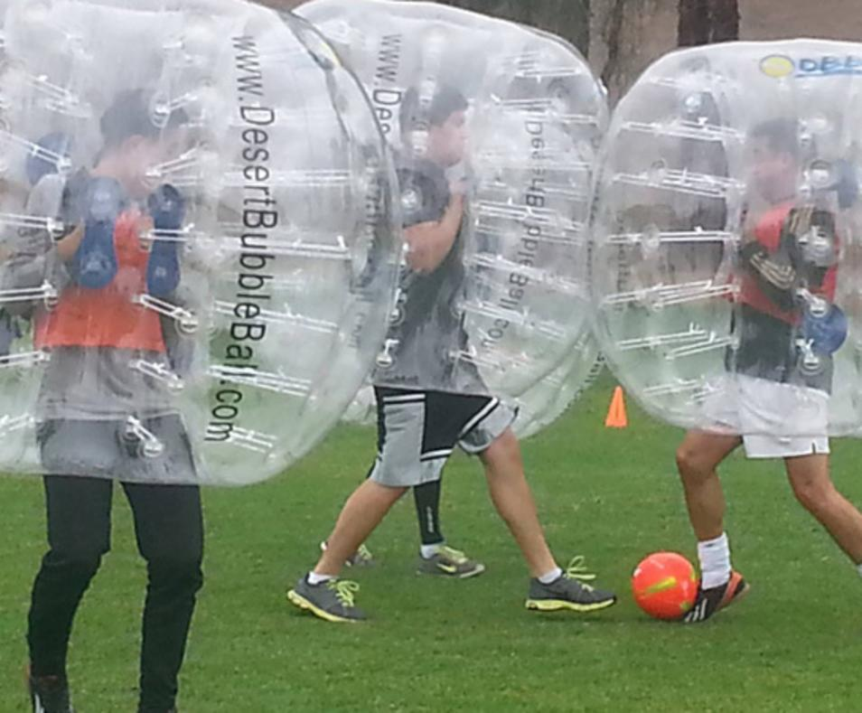 Desert Bubble Ball
