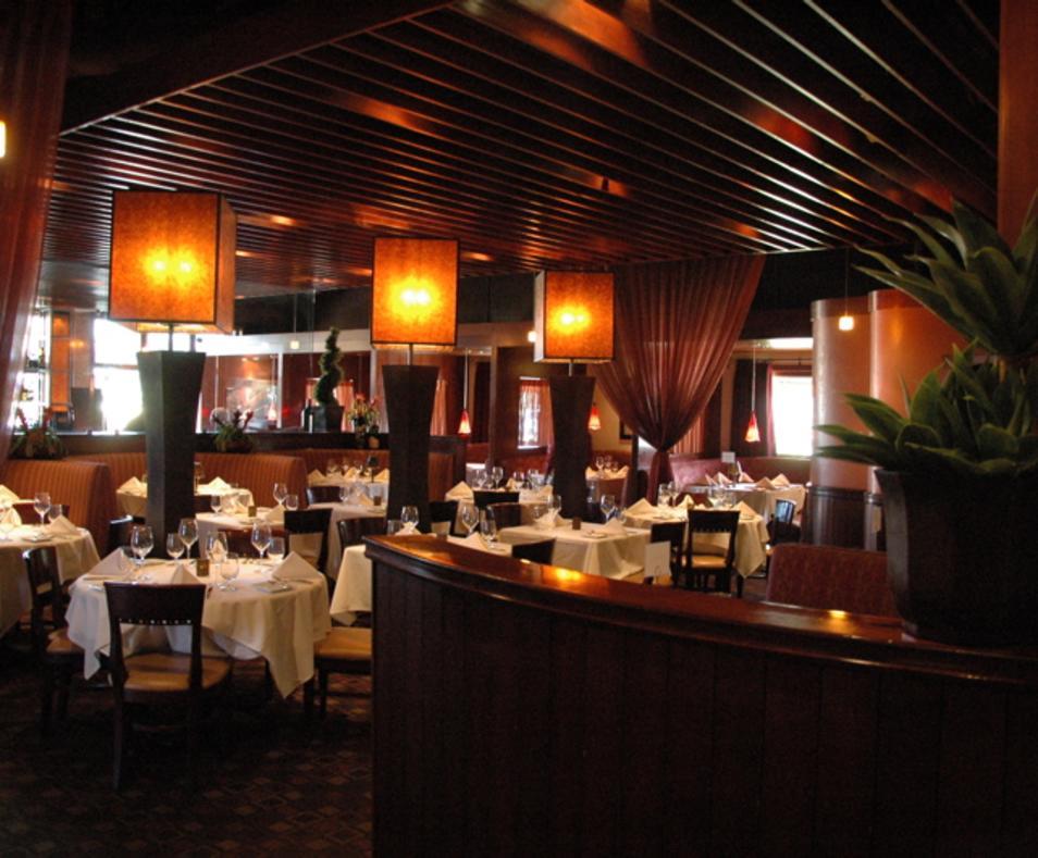 Cork Tree main dining room