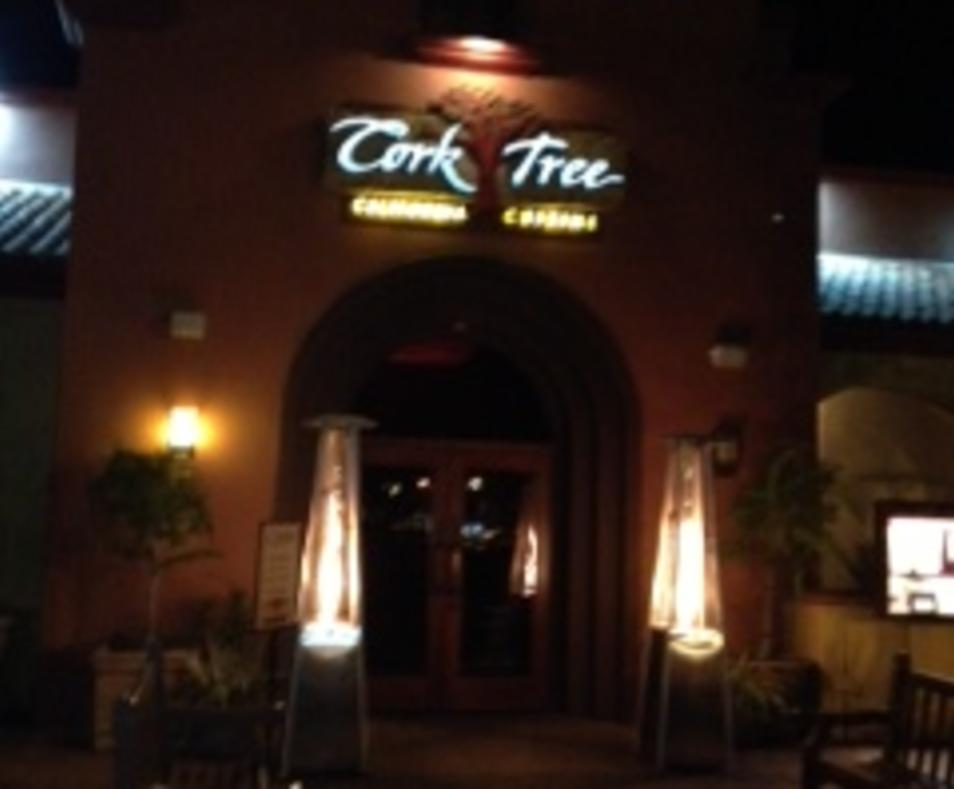Corktree Front Entrance at Night