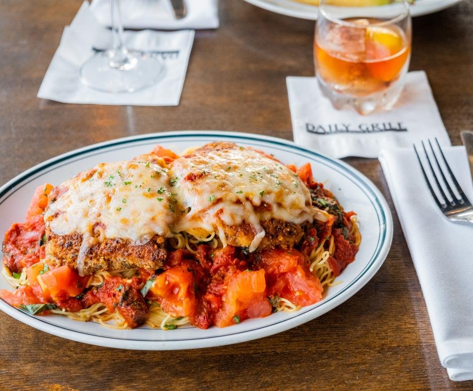 Daily Grill chicken parm