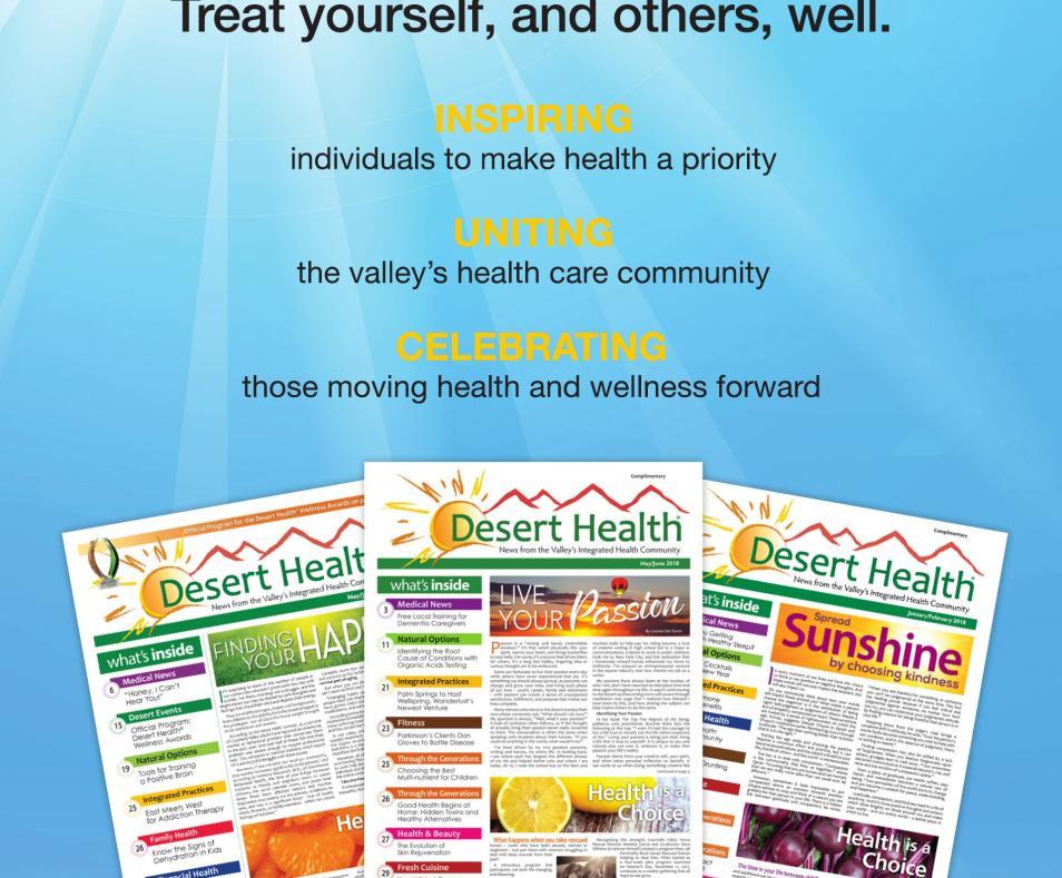 Desert Health Ad