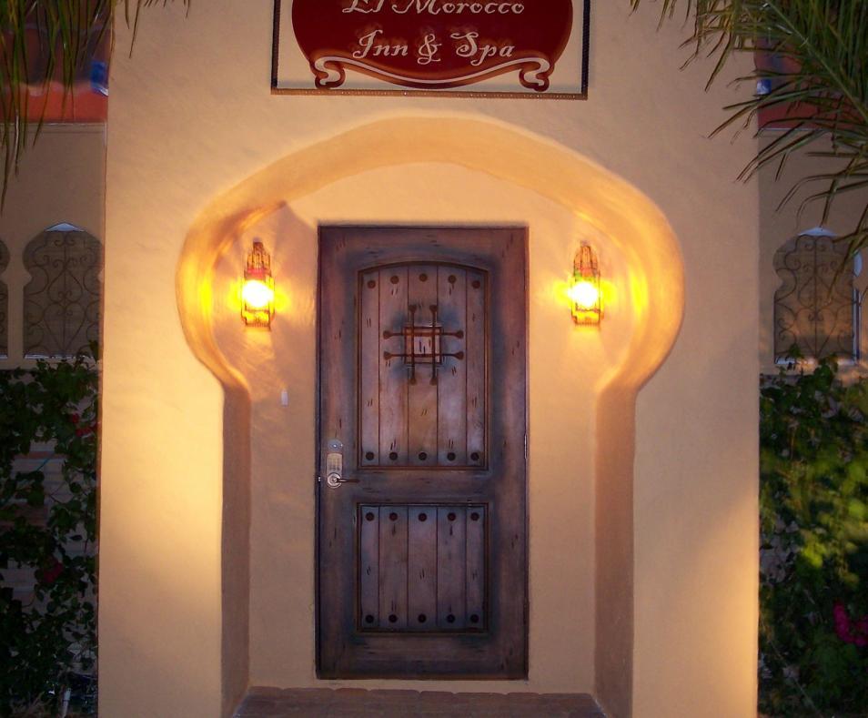 Front Door at The El Morocco