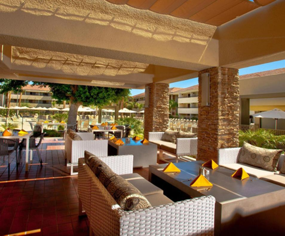 The Terrace Restaurant at Hilton Palm Springs