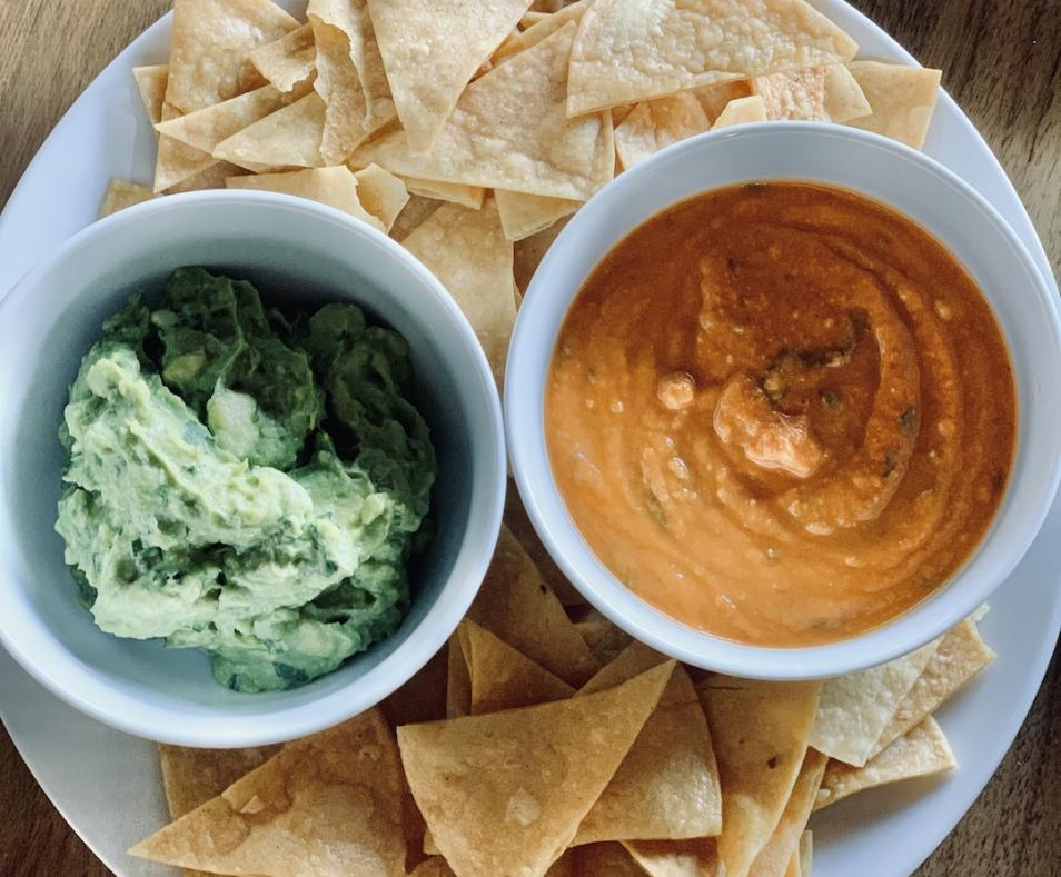 Grand Central Palm Springs-Chips-Guacamole-Salsa