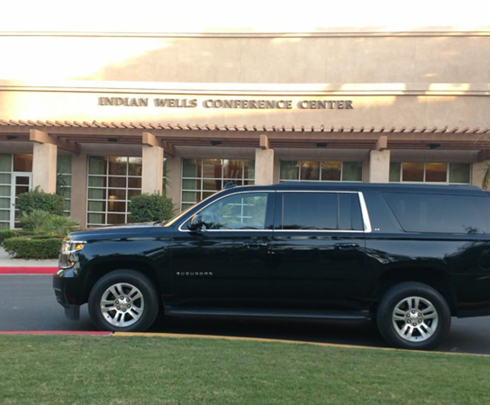 Hyatt Indian Wells SUV