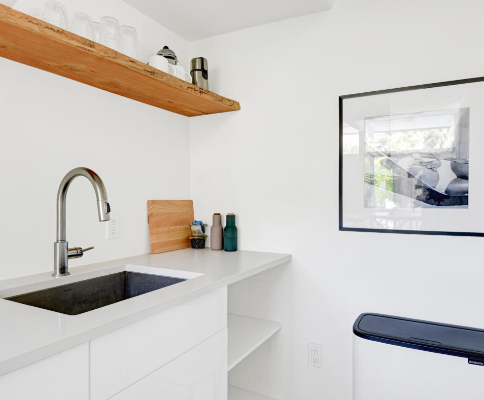 Kitchen detail - one bedroom suite at The Amado