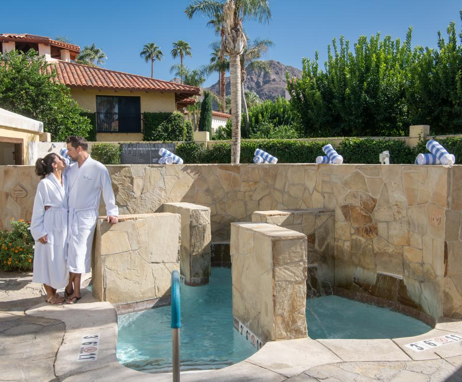 Couples at the Well Spa