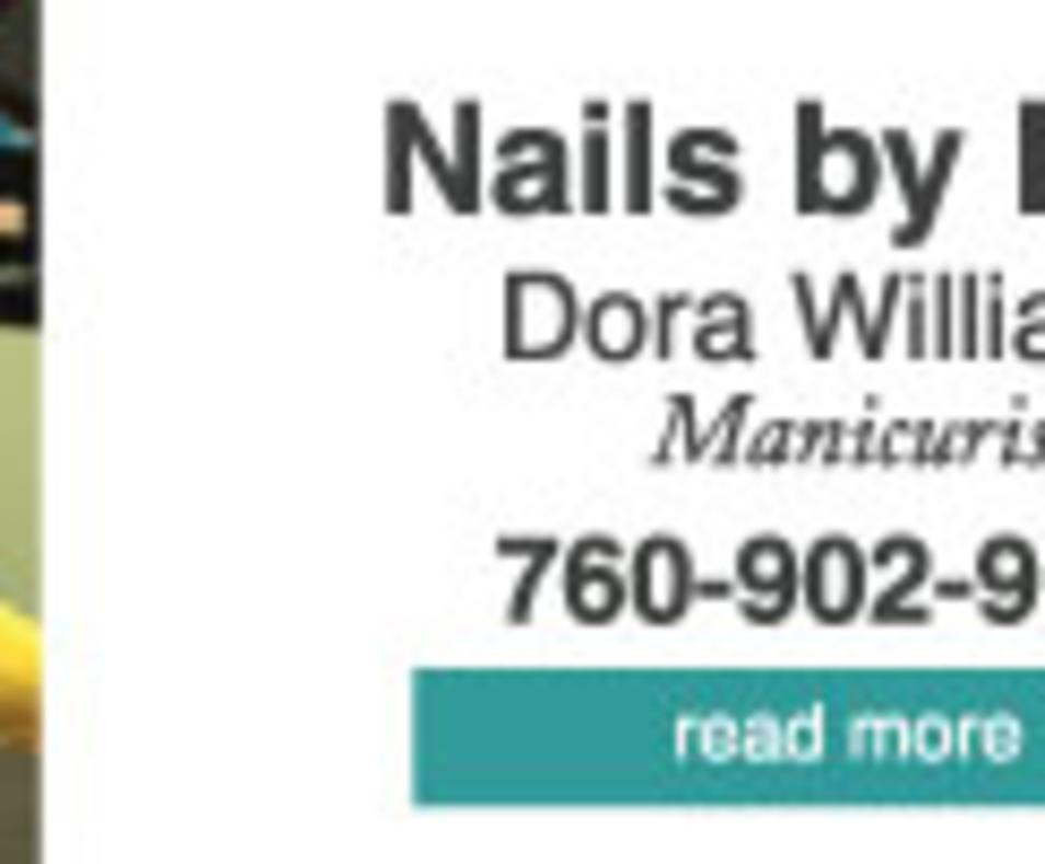 Nails by Dora bizcard
