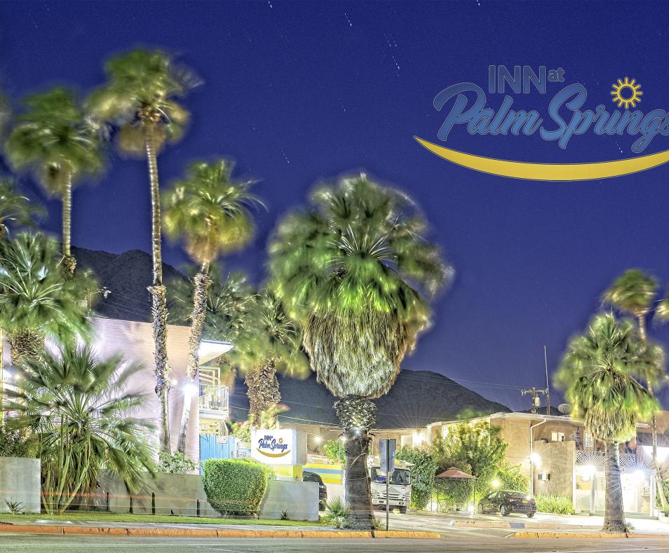 Evening at Inn at Palm Springs