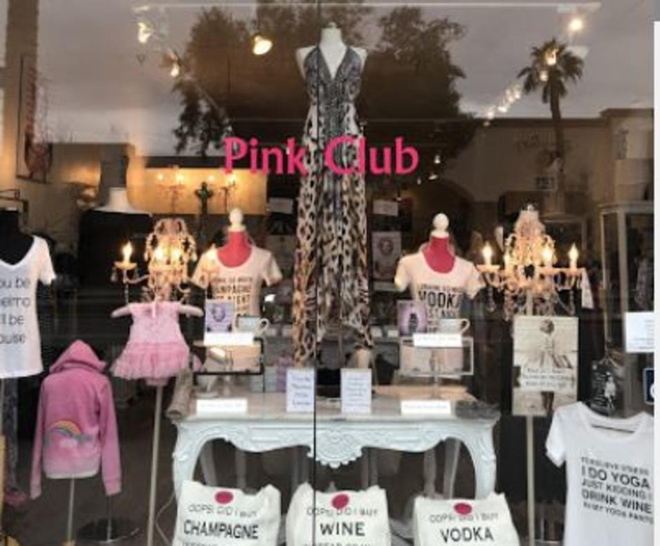 Pink Club storefront