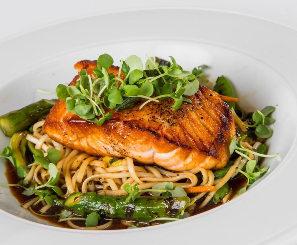 AC3 salmon noodle bowl