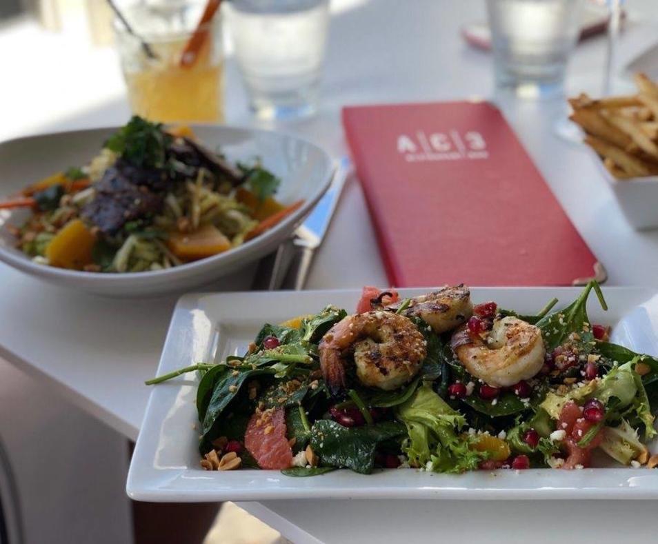 AC3 shrimp salad