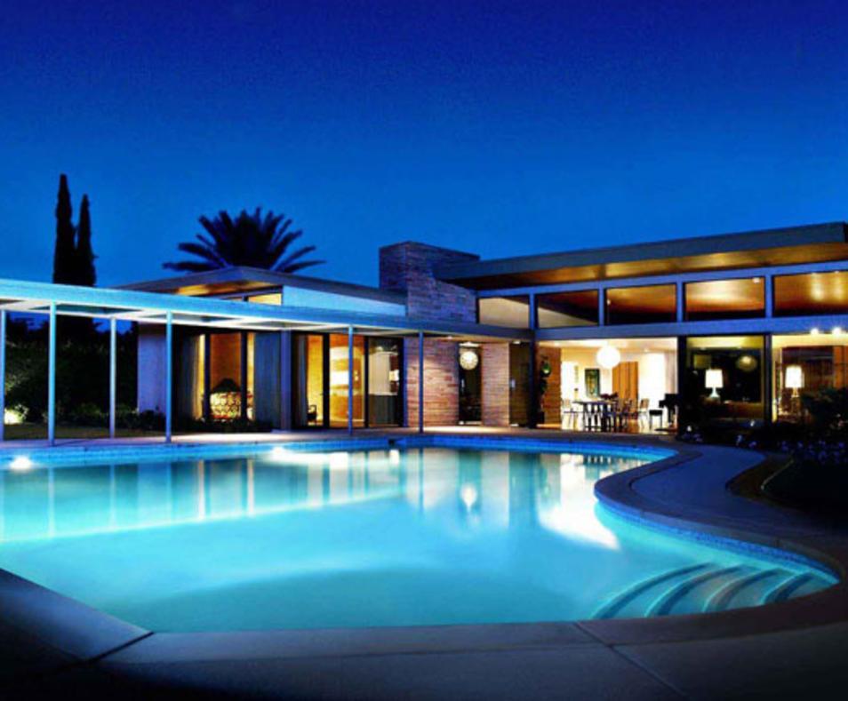 Twin Palms Sinatra House