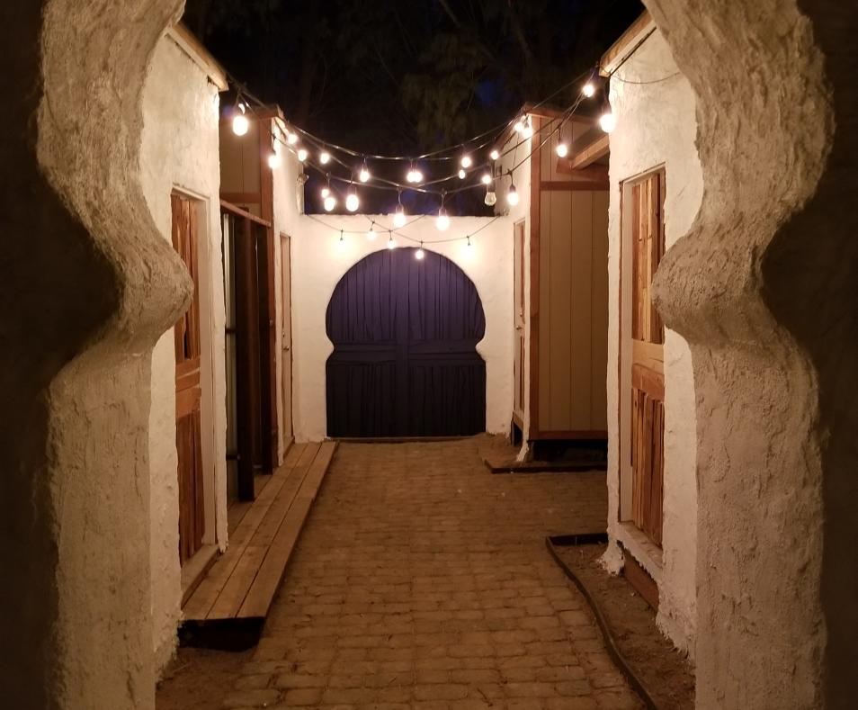 Spa Garden Arch