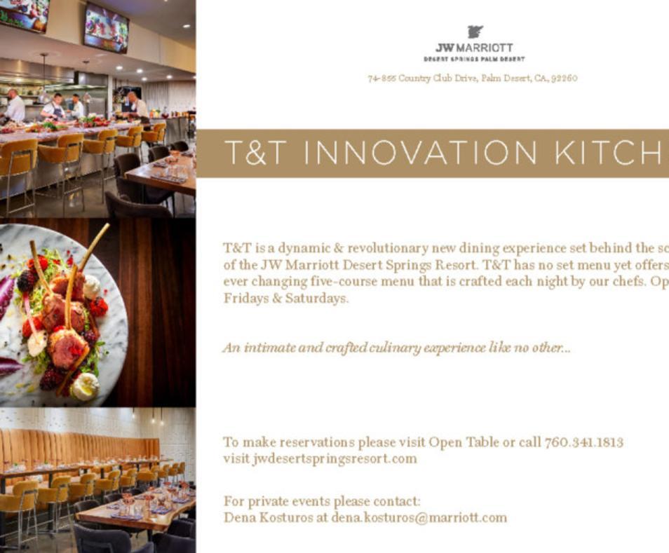 T & T Innovation Kitchen