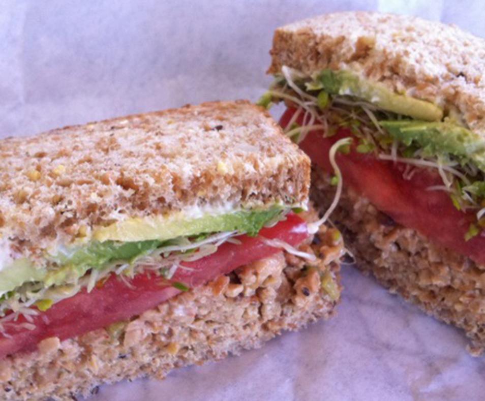 Tempeh Sandwich