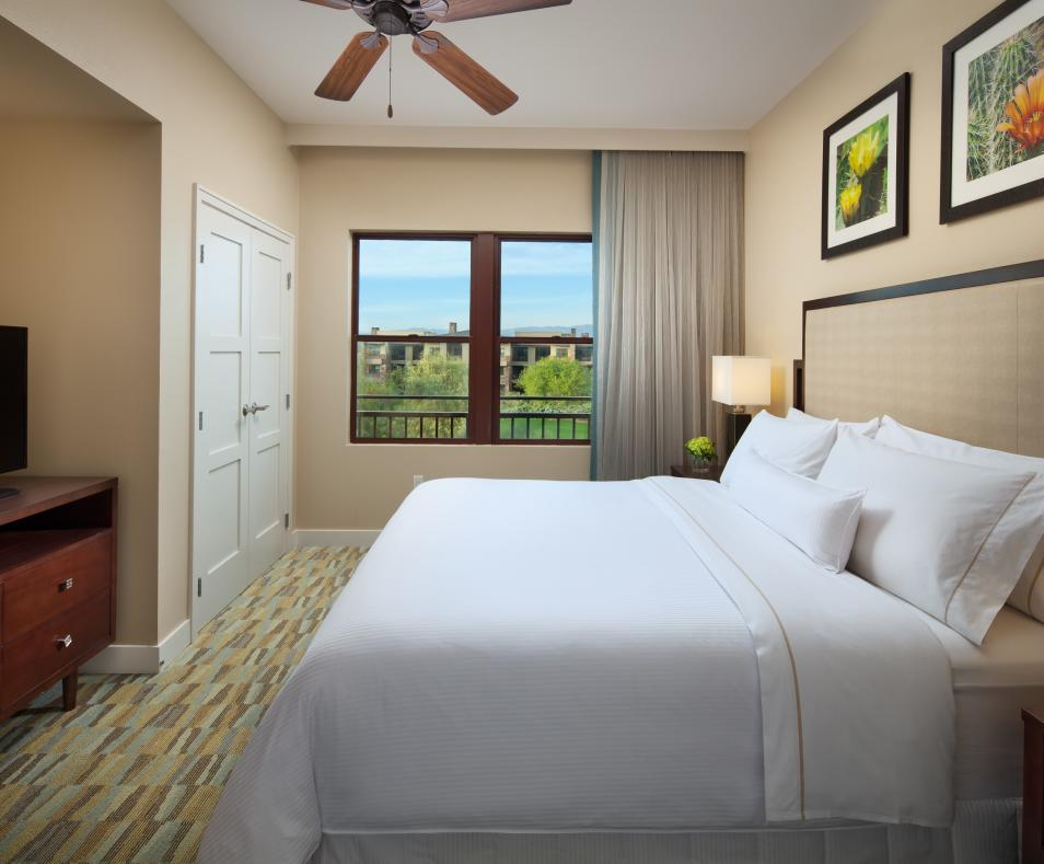 The Westin Desert Willow Villas Bedroom