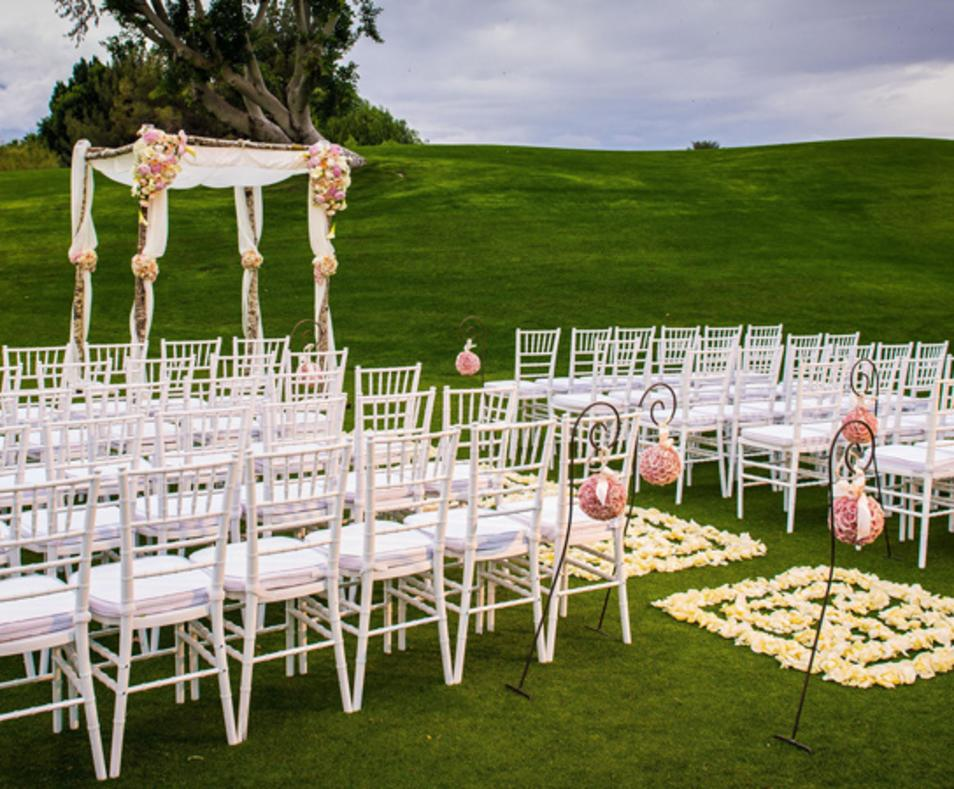 Real Weddings at The Westin Mission Hills - Pete Dye Driving Range