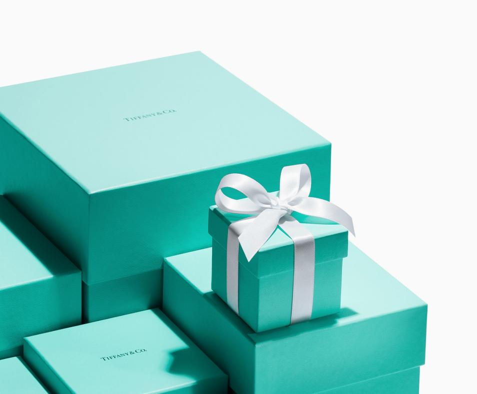 Tiffany and Company blue box