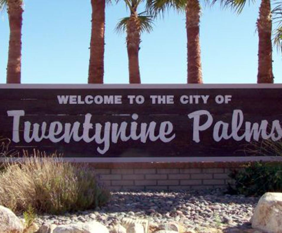 Welcome to Twentynine Palms