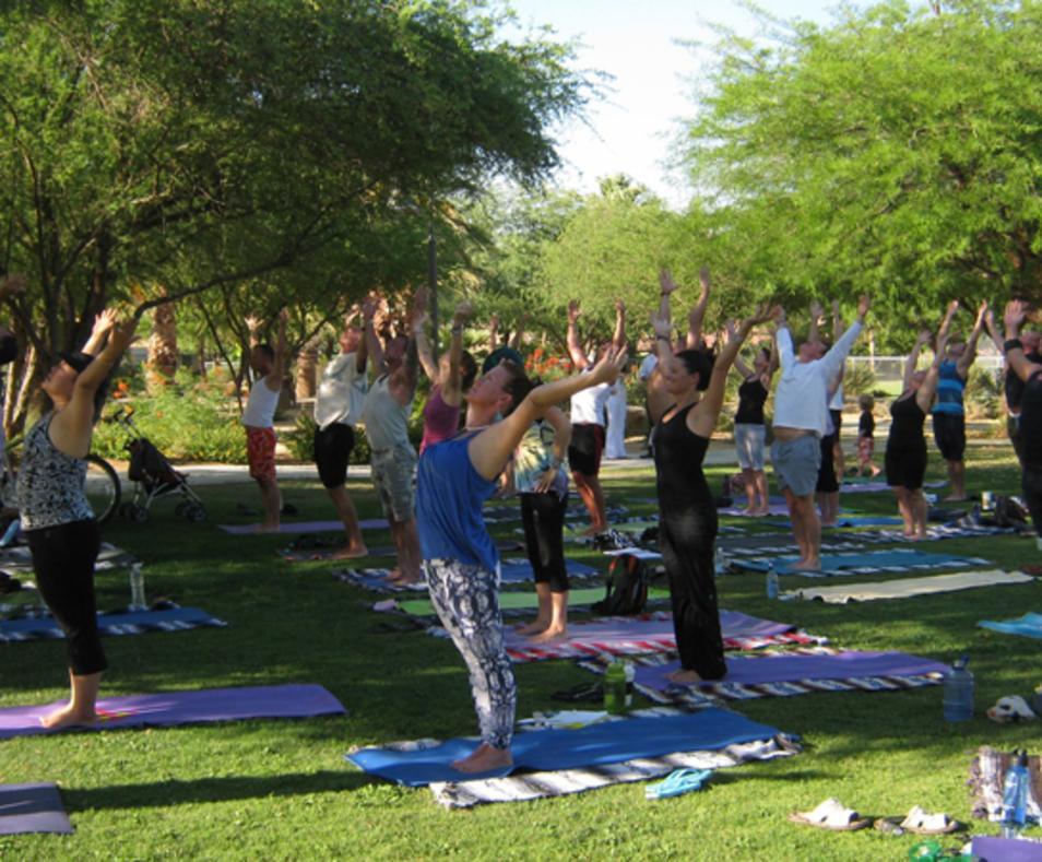 Power Yoga Palm Springs