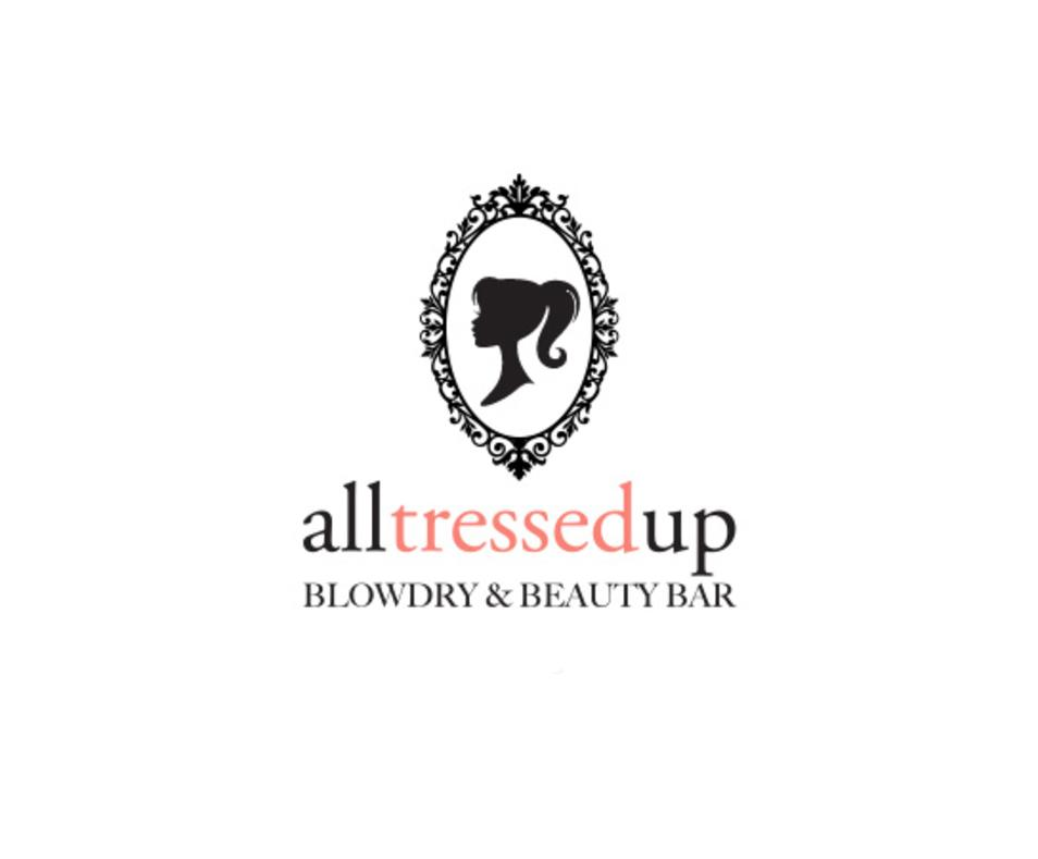 All Tressed Up Blowdry & Beauty Bar logo