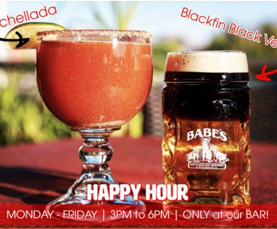 Babes Happy Hour Beer specials