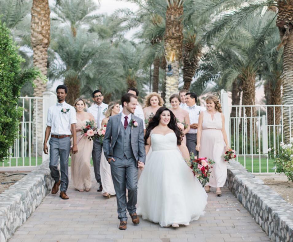 Weddings at Shields Date Garden