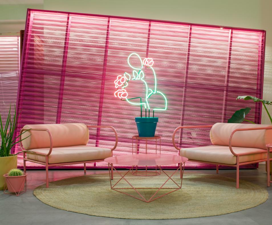 lobby pink