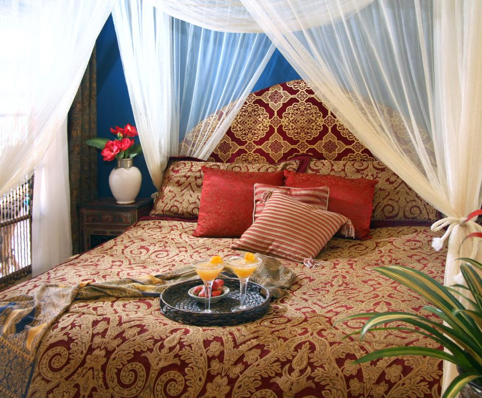 Guestroom at the El Morocco Inn & Day Spa