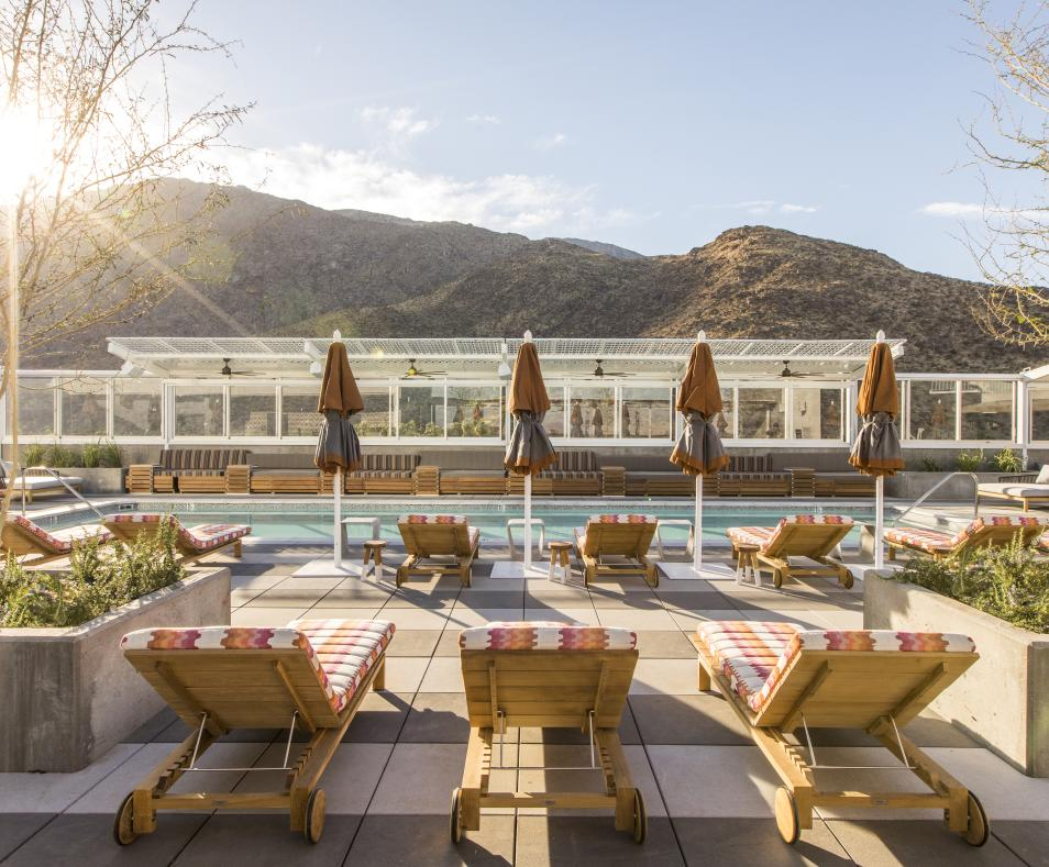Rowan Rooftop Pool